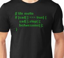 beAwesome Code Green Unisex T-Shirt