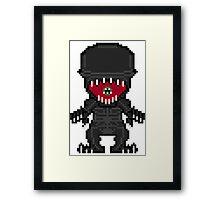 Pixelmorph Framed Print