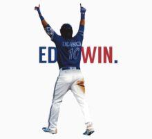 Edwin Encarnacion Wild Card Home Run One Piece - Short Sleeve