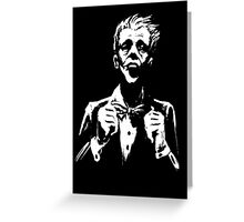 Tuxing Joker Greeting Card