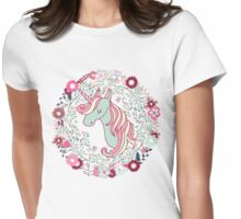Sweet Unicorn Womens Fitted T-Shirt