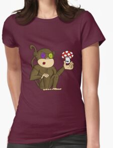 Magic Monkey Womens Fitted T-Shirt