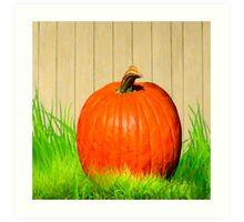 Pumpkin Season - Vivid Fall Color Art Print