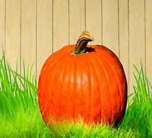 Pumpkin Season - Vivid Fall Color by Mark Tisdale