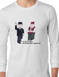 Mr Benn and the Shopkeeper Long Sleeve T-Shirt