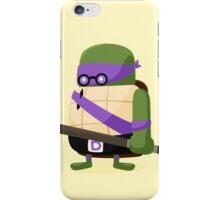 Donatello in Disguise iPhone Case/Skin