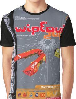 Wipeout Sega Saturn Game Graphic T-Shirt