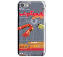Wipeout Sega Saturn Game iPhone Case/Skin