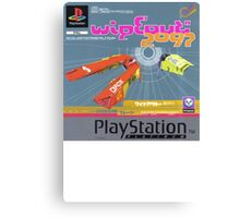 Wipeout Playstation Canvas Print