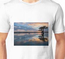Kayaking at Sunset on Lake Martin, Louisiana Unisex T-Shirt