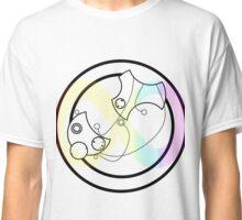 Actually Autistic Circular Gallifreyan Classic T-Shirt
