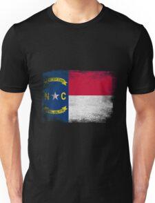 North Carolina State Flag Distressed Vintage  Unisex T-Shirt