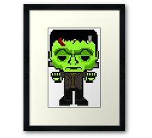 Pixelstein Framed Print