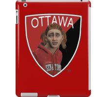 Ottawa Senators logo meme from NHL 15 - reddit iPad Case/Skin