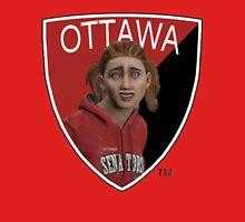 Ottawa Senators logo meme from NHL 15 - reddit Unisex T-Shirt
