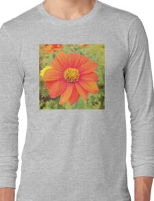 Colorful flower!!!! Long Sleeve T-Shirt