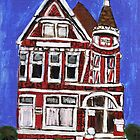 Red Victorian in Pacific Heights(San Francisco) by RobynLee