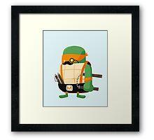 Michelangelo in Disguise Framed Print