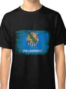 Oklahoma State Flag Distressed Vintage Classic T-Shirt