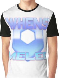 Whens Melee Blue Graphic T-Shirt