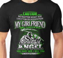 Caution My Girlfriend Will Always Be My Beautiful Angel T-Shirt Unisex T-Shirt