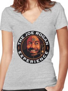 joe rogan Women's Fitted V-Neck T-Shirt