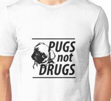 Pugs Not Drugs  Unisex T-Shirt