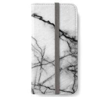 Marble BW iPhone Wallet/Case/Skin