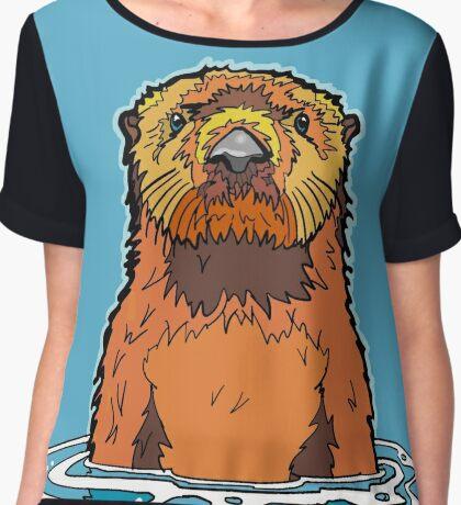 Sea Otter Chiffon Top