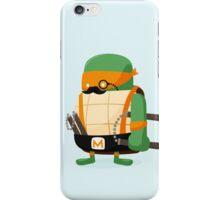 Michelangelo in Disguise iPhone Case/Skin