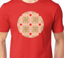 Groovy Carousel Mandala Unisex T-Shirt