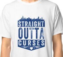 Straight Outta Curses (blue version) Classic T-Shirt