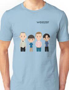 Weezer Blue Unisex T-Shirt