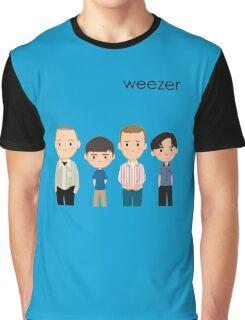 Weezer Blue Graphic T-Shirt