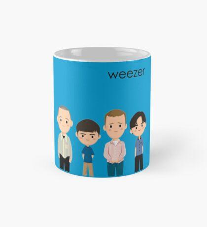 Weezer Blue Mug