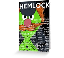 Hemlock with title Greeting Card