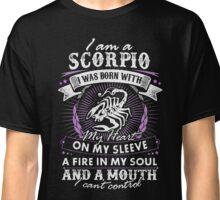 I'm A Scorpio I Can't Control Funny T-Shirt Classic T-Shirt