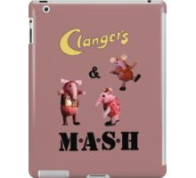 Clangers and M A S H iPad Case/Skin