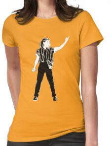 Christine and the queens singing black&white Womens Fitted T-Shirt