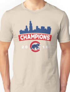 Chicago Cubs World Series Champions 2016 Unisex T-Shirt