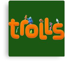 Trolls Movie Canvas Print