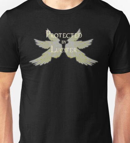 Protected by Lucifer Light Unisex T-Shirt
