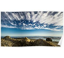 Sands Beach and the Channel Islands Poster