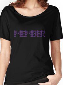 Memberberries Member |Black Women's Relaxed Fit T-Shirt