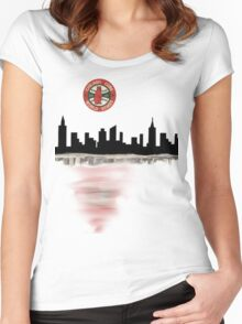 2016 chicago cubs world series winners Women's Fitted Scoop T-Shirt