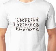 Stranger Things Letters Unisex T-Shirt