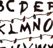 Stranger Things Letters Sticker