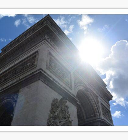 The Arc de Triomphe Sticker