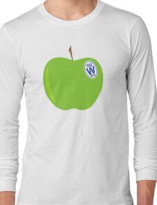 green apples - cubs world series champs Long Sleeve T-Shirt