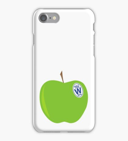 green apples - cubs world series champs iPhone Case/Skin
